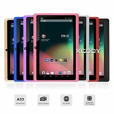"""7"""" Tablet PC Quad Core Android 4.4 8GB HD 1024x600 Dual Camera WiFi Bluetooth"""