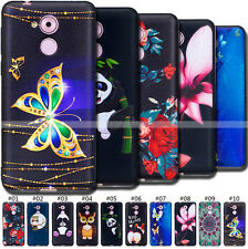 Embossed TPU Back Silicone Rubber Cover Skin Embossing Gel Soft Case For Huawei