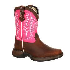 Durango Lil Youth Let Love Fly Western Boot Brown Pink DWBT093