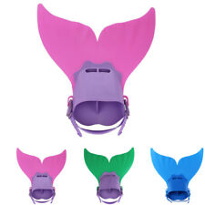 Soft Strap Comfortable Adjustable Swimming Fins Fits Children Under 15 Years New