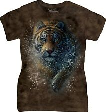The Mountain Ladies Adult Tiger Splash Zoo T Shirt