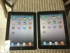 Lots 2 Apple iPad 1st Generation 16GB, Wi-Fi, 9.7in - Black _ Good Condition