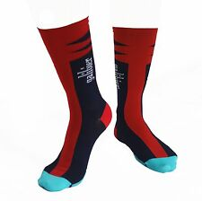 Galibier Coolmax Socks. Red, Cycling, Le Tricolore Sock, sockdoping