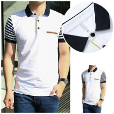 1Pcs Men's Polo Shirt Cotton Jerseys Men's T-shirt Short Sleeve shirt New
