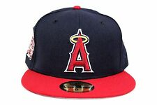 Anaheim Angels Navy 1961-2011 50th Anniversary Patch New Era 59Fifty Fitted Hat