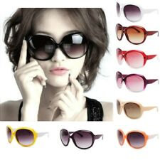 Retro Big Style Womens Vintage Shades Oversized Designer Sunglasses Eyewear juk0
