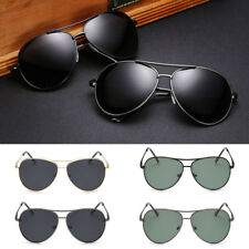 Polarized Mens Aviator Driving Sunglasses Glasses Vintage Retro Shades Eyewear y