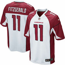 Authentic Nike NFL Game Edition Arizona Cardinals Larry Fitzgerald 11 Jersey NWT