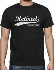 Retired Since 2018 - Retirement Gift Idea T-Shirt Funny
