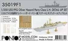 Pontos Model 350191 1:350 USS Oliver Hazard Perry Class Detail Set for ACY