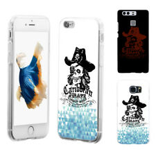 Cool Skull Pirate Phone Case Cover for iPhone Samsung S4 Huawei Mate 9 Gracious