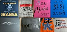Personalized, Custom T-Shirts ~ You Design ~ USA Seller ~ Fast Free Shipping!
