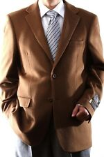 Mens Two Button Lamb Wool Cashmere Vicuna Sport Coat, J40912C-40933-VIC