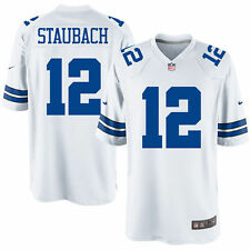 Authentic Nike NFL 2017 Game Edition Dallas Cowboys Roger Staubach #12 Jersey