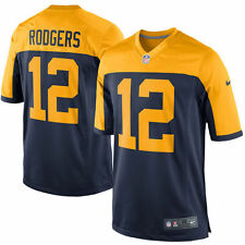 Authentic Nike NFL 2017 Game Edition Green Bay Packers Aaron Rodgers #12 Jersey