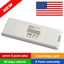"""59WH Laptop Battery for Apple MacBook 13"""" A1181 A1185 MA561 MA566 White"""
