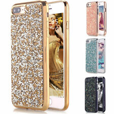 Diamond Bling Glitter TPU Hybrid Protective Hard Case Cover For iPhone 7 7 Plus