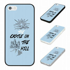 ED SHEERAN LYRICS CASTLE ON THE HILL  Rubber Phone Case Cover Fits Iphone Models