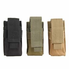 Single Mag Magazine Pouch Open Top Pistol Cartridge Clip Pouch Fit U.S. Military