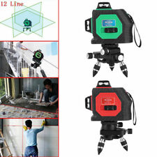 Hot Laser Level 360 Rotary Laser Red/Green line self leveling with receiver ES