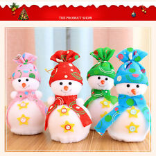 Christmas Snowman Doll Decoration Xmas Tree Hanging Ornament Gift Home Decor
