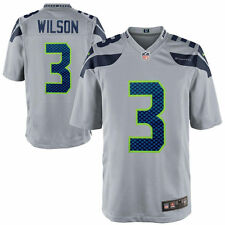 Authentic Nike NFL 2017 Game Edition Seattle Seahawks Russell Wilson #3 Jersey