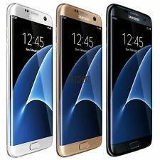 "Samsung Galaxy S7 edge 32GB 5.5"" GSM UNLOCKED Smartphone - Black White Gold Q1"