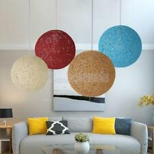 Nordic Style Rattan Wicker Ceiling Pendant Lampshade Hanging Decoration Lamp
