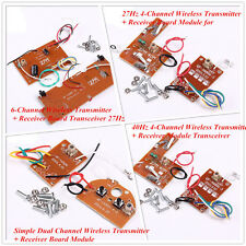 6-Channel Wireless Transmitter + Receiver Board Transceiver Simple Dual Channel