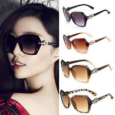 Retro Fashion Womens Big Oversized Vintage Designer Eyewear Sunglasses Shades ty