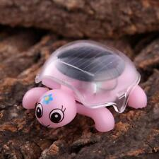 Mini Solar Powered Cute Turtle Tortoise Kids Educational Toy Gadget Gift UK