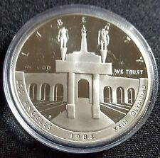 1984 US OLYMPIC PROOF COMMEMORATIVE SILVER DOLLAR