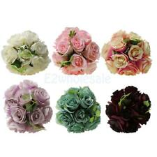 Artificial Peony Silk Flower Bridal Hydrangea Home Wedding Garden Decor 6 Colors