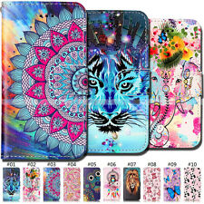 Flip Card PU Leather TPU Back Shockproof Cover Stand Case For Apple iPhone SE/5S
