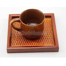 Rectangular Woven Serving Tray Perfect for Hotel Cafe Bar Tea House Parties
