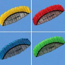 US Outdoor Great Huge Parafoil Parachute Stunt Dual Line Sport Beach Kite 2.5m