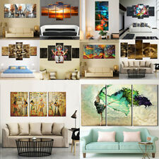 Large Modern Abstract Wall Art Canvas Oil Painting Home Hall Decor No Framed