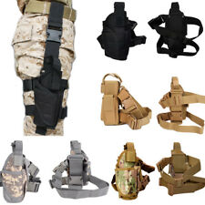 New Tactical Army Pistol Gun Revolver Leg Thigh Holster Pouch Holder Adjustable