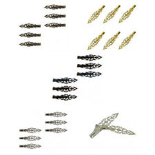 6Pcs Alligator Hair Clips Pin Elegant Filigree Statement Flower Lady Hair Decor