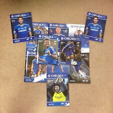 CHELSEA F.C. 2013-14 HOME PROGRAMMES