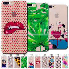 Shockproof Back Silicone TPU Rubber Soft Cover Case Skin For Apple iPhone 7 Plus