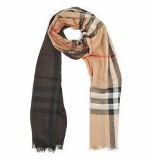 BURBERRY OMBGAUZEGICHK3943706 women Scarves Beige NEW  made in Italy OUTLET