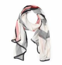 BURBERRY ULTWSHMGSTS4014871 women Scarves Grigio NEW  made in Italy OUTLET
