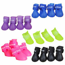 Booties Waterproof Dog Rain Boots Rubber Pet Shoes