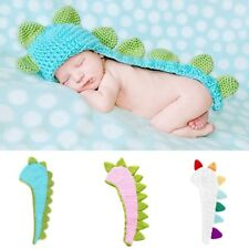 Dinosaur Baby Infant Handmade Crochet Beanie Hat Clothes Baby Photograph New