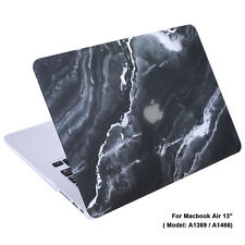 """Rubberized Plastic Hard Shell Cover Case for MacBook Air 13"""" (A1369/ A1466)"""