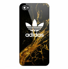 Adidas Gold Marble Print Hard Plastic Case For iPhone 5 5s SE 6 6s 7 8 X (Plus)