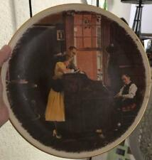 Vintage GORHAM 1976 COLLECTOR PLATE -  NORMAN ROCKWELL - The Marriage License