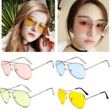 Retro Fashion Unisex Vintage Aviator Sunglasses Womens Mens Eye Glasses  Eyewear