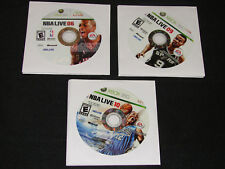 Lot of 3 NBA Basketball XBOX 360 games - NBA LIVE 06,09 & 10  ***WOW***